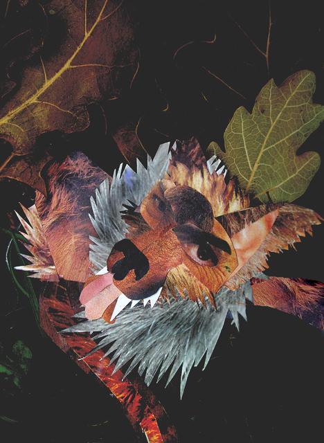 Le grand méchant loup-Papier découpé 2006